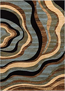 Best wave area rug Reviews