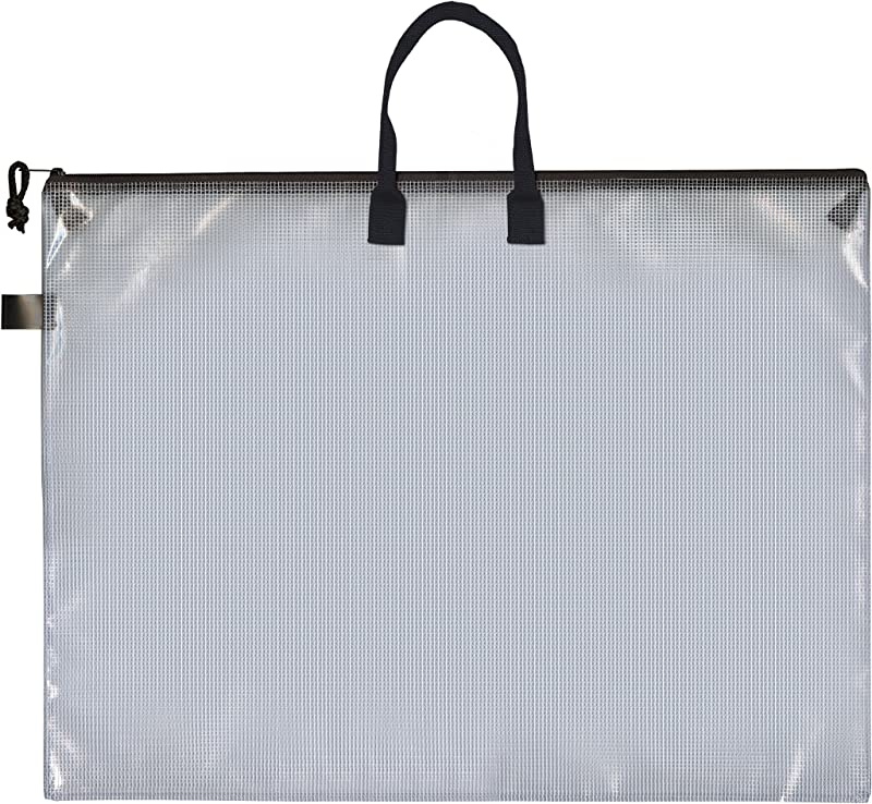 Pro Art PRO 7215H Mesh Vinyl Bag With Handle And Zipper 19 By 25 Inch
