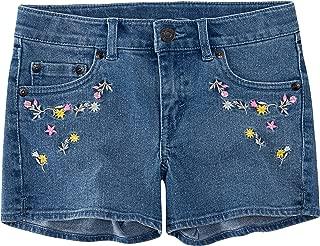 Girls' Denim Shorty Shorts