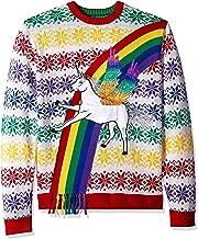 rainbow christmas sweater
