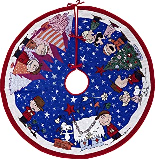 snoopy christmas tree skirt
