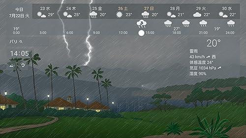 『YoWindow 天候 無料』の5枚目の画像