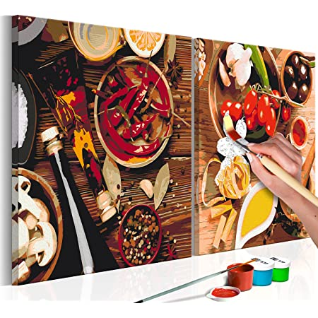 cmhai Kaffeebohne DIY Malen Nach Zahlen Kits Handgemalte Kaffeetasse /Ölbilder Wandkunst F/ärbung Zeichnung Leinwand Wohnzimmer Dekor Kein Rahmen