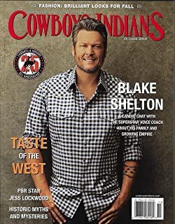 Cowboys & Indians Magazine (October, 2018) Blake Shelton Cover