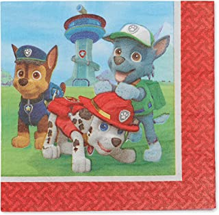 AMERICAN GREETINGS Paw Patrol Party Supplies, Paper Lunch Napkins (48-Count)