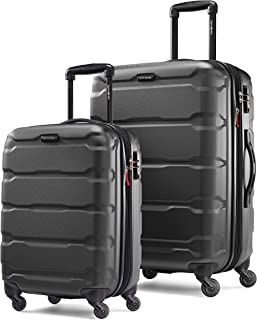 delsey 2 piece hardside luggage set sienna