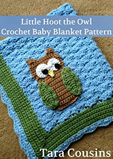 Little Hoot the Owl Baby Blanket Pattern
