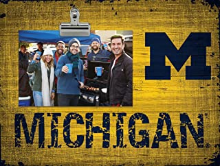Fan Creations NCAA Michigan Wolverines Team Name Clip-It Photo Frame