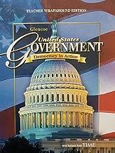 Glencoe United States Government; Democracy In Action. Teacher Wraparound Edition, 9780078747632, 0078747635. c 2008