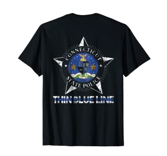 Connecticut State Police Shirt CT State Police Shirt