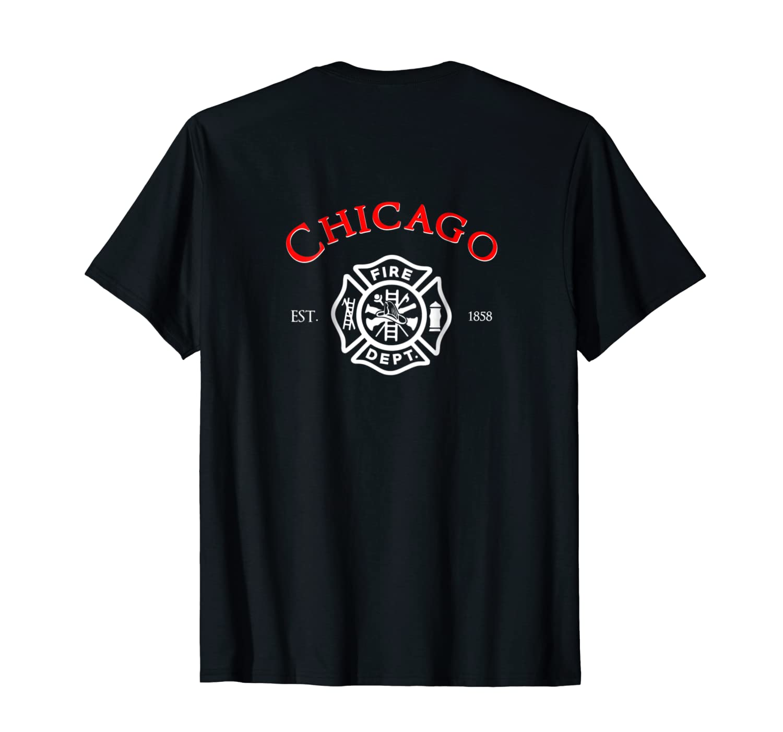 City Of Chicago Fire Departt Illinois Firefighter T Shirt