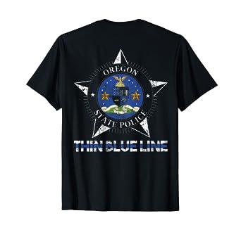Amazon com: Oregon State Police Shirt Oregon State Trooper Shirt