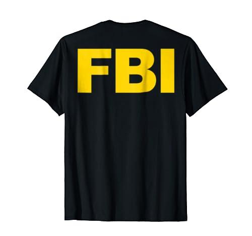 61042e290ac Jual FBI Shirt Front   Back Print FBI Law Enforcement Clothing - T ...