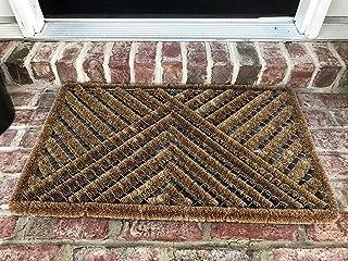 THM Mats Natural Coir Wire Door mat (30L X 18W)