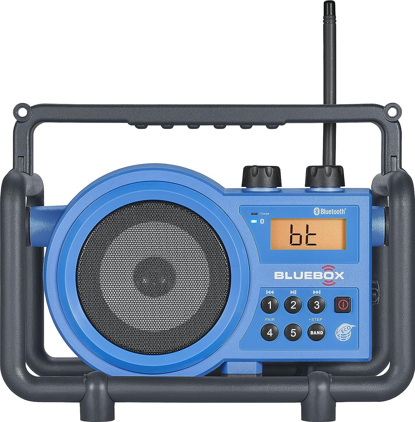 Sangean BB-100 AM/FM/Bluetooth/Aux-in Ultra Rugged Digital Tuning Rechargeable Radio