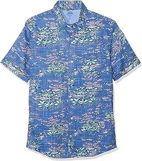 6984415d0a Izod Men's Dockside Island Print Ss Shirt Casual