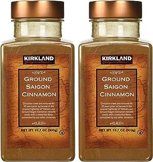 Kirkland Saigon Cinnamon 10.7 Oz Bottles( Pack of 2) - 21.4 Oz Total