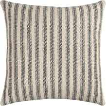 Rizzy Home Throw Pillow, 20 x 20, Gray