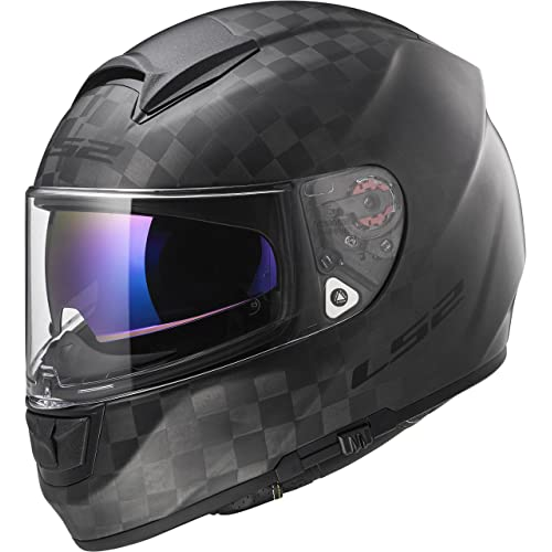 LS2 Helmets Unisex-Adult Full-face-Helmet-Style Motorcycle (Carbon Fiber