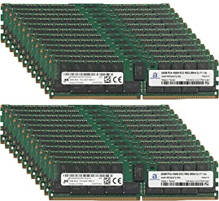 Micron Original 768GB (24x32GB) Server Memory Upgrade for Cisco UCS SmartPlay Select B200 M4 High Core 1 DDR4 2400MHZ PC4-19200 ECC Registered Chip 2Rx4 CL17 1.2V Adamanta RAM