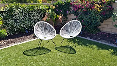 oval outdoor chair