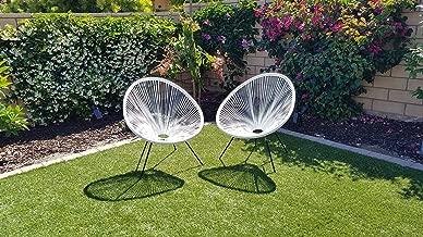 white acapulco chair