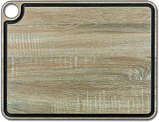 Arcos Planches a Decouper - Planches a Decouper avec canal - Fibre de Cellulose et Résine 42,7 x 32,7 cm et 6,5 mm épaisse...