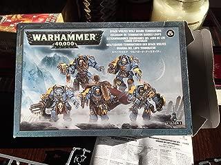 Games Workshop Wolf Guard Space Marine Terminator Squad Warhammer 40k