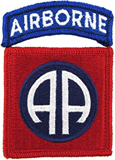 82nd Airborne Division Dress Patch with Airborne Tab