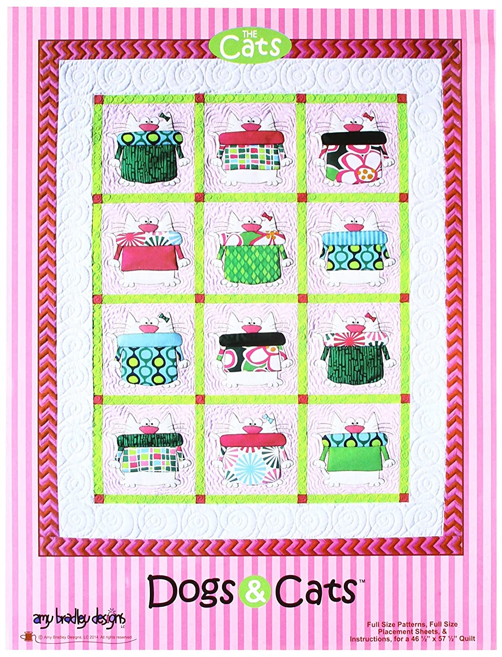 Amy Bradley Designs ABD266 Dogs & Cats Quilt Pattern