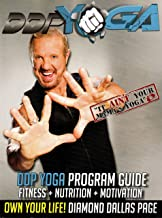 Diamond Dallas Page DDP Yoga Program Guide with Four DVD Set and Diamond Dozen Poster