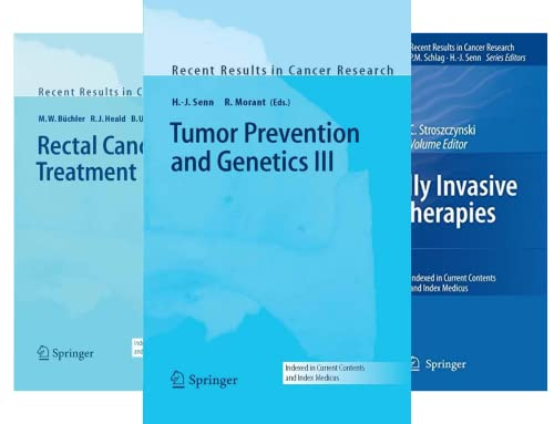 Recent Results in Cancer Research (50 Book Series)