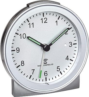 Funk Badezimmeruhr TFA 60.3539.02 analog Baduhr Glasabdeckung Saugnäpfe Ø 173 mm