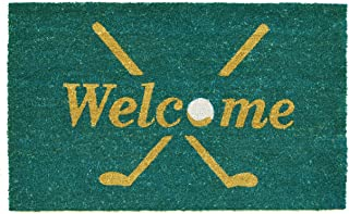 Home & More 122142436 Golf Welcome Doormat