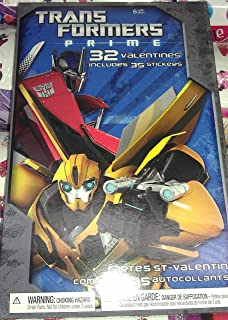Transformers American Greetings Valentines Day Trading Cards Set, 32 Included + More!