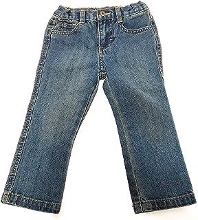 Wrangler Slim Straight Fit 5 Pocket Jeans Size 2T Blue