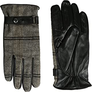 GII Men's Tweed Leather Touchscreen Gloves