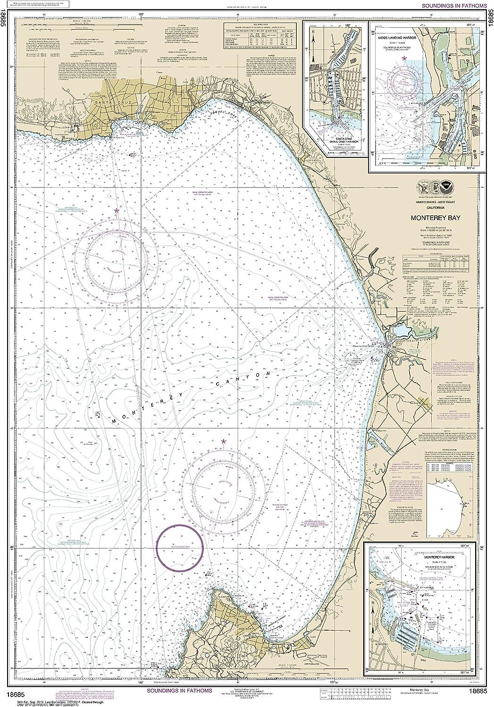 NOAA Product Chart 18685 Monterey Harbor;Moss Challenge the lowest price of Japan Bay;Monterey Harbo Landing