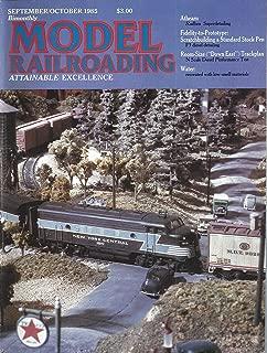 Model Railroading : Prototypes for Athearn & MDC Railbox Cars; Diesel Detail - F3 ABBA circa 1948, F3 ABBA circa 1961, RS-3 on the Southern; Bachmann HO Scale SD40-2 Diesel; HO & HOn3 Dual Guage in 5 X 9 feet; Pete Moffett's 12 X 8 Trout Creek