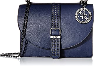 GUESS Eileen Midnight Convertible Crossbody Flap
