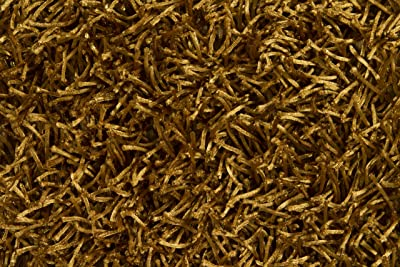 Amazon.com: Pelle piel Shag alfombra redonda (: Kitchen & Dining