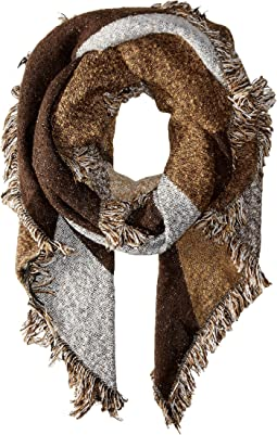 San Diego Hat Company - BSS1535 Nubby Tweed Scarf with Fray Edges
