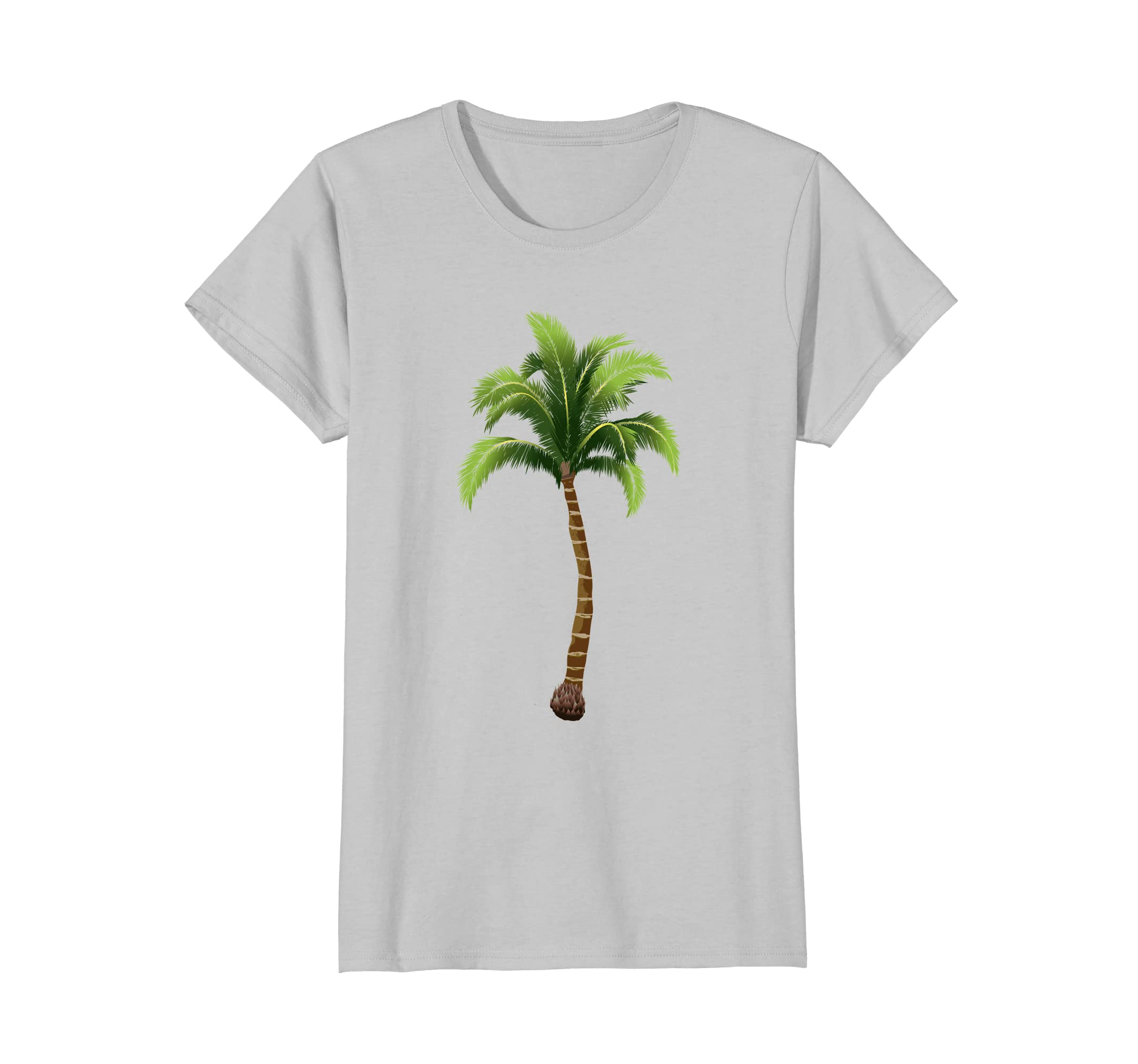 b02a7382c5 Amazon.com: Palm Tree T Shirt for Girls for Fun on the Beach or ...
