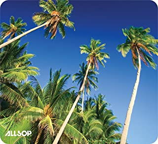 Allsop Nature's Smart Mouse Pad 60% Recycled Content, Palm Trees (31427)