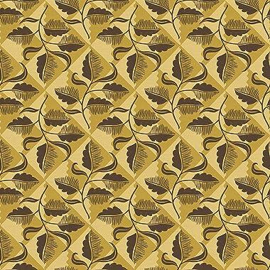 PBS Fabrics Desert Check, Gold