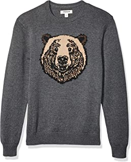 Goodthreads Amazon Brand Men's Soft Cotton Graphic Crewneck Sweater