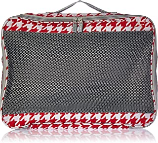 American Flyer Houndstooth Perfect Packing System 3 Pc Set Red