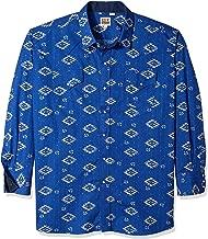 Ely & Walker Men's Long Sleeve Printed Western Shirt