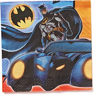 American Greetings Batman Party Supplies, Paper Lunch Napkins (16-Count)
