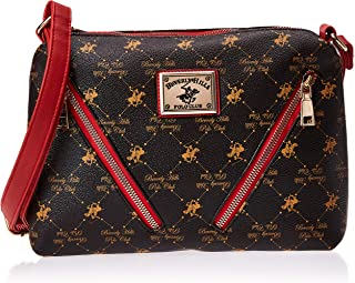 BHPC Womens Crossbody Bag, BROWN - BHVA3336BND
